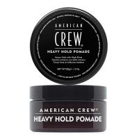 American Crew Heavy Hold Pomade - Помада экстра-сильной фиксации, 85 г
