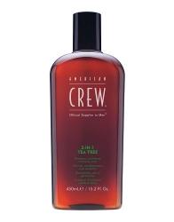 Фото American Crew 3 in1 Tea Tree - Средство для волос 3 в 1 чайное дерево, 450 мл