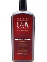 American Crew Fortifying Shampoo - Укрепляющий шампунь для тонких волос, 1000 мл