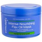 Concept Intense Nourishing Mask With Flax Oil - Маска питательная с льняным маслом для окрашенных и осветленных волос, 500 мл