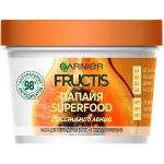 Фото Garnier Fructis SuperFood - Маска для волос 3 в 1  Папайя восстанавливающая, 390 мл