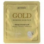 Фото Petitfee - Гидрогелевая маска для лица с золотом, 32 г