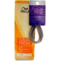 Wella Color Fresh Acid - Оттеночная краска, тон 0.89 жемчужный сандрэ, 75 мл.