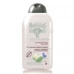 Фото Le Petit Marseillais - Шампунь для нормальных волос, Лен и молочко сладкого миндаля, 250 мл