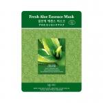 Фото Mijin Cosmetics Fresh Aloe Essence Mask - Маска для лица тканевая с алое, 25 г