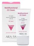 Фото Aravia Professional - СС-крем защитный SPF-20 Multifunctional CC Cream Sand 02, 50 мл