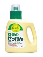 Miyoshi - Жидкое средство для стирки основе натуральных компонентов, для изделий из хлопка, 1200 мл