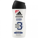 Фото Adidas Hydra Sport - Гель для душа для мужчин, 250 мл