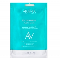 Aravia professional Aravia Laboratories Альгинатная маска с экстрактом мяты и спирулины Ice Seaweed Algin Mask, 30 гр