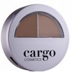 Cargo Cosmetics Brow How Defining Kit Medium - Набор для бровей коричневый, 1,3 г