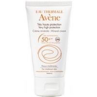 Avene Mineral Cream SPF 50+ - Крем солнцезащитный с минеральным экраном SPF 50+, 50 мл