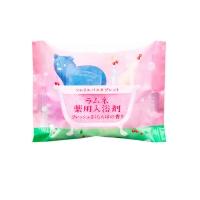 Charley Sommelier - Соль-таблетка для ванн расслабляющая с ароматом цветущей сакуры, 40 г