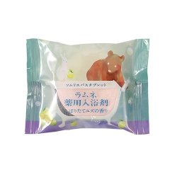 Фото Charley Sommelier - Соль-таблетка для ванн расслабляющая с ароматом юдзу, 40 г