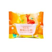 Charley Sommelier - Соль-таблетка для ванн расслабляющая с ароматом манго и апельсина, 40 г