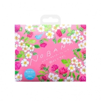Charley Nobana - Соль-саше для ванн увлажняющая Дикая роза и чертополох с ароматом свежих цветов, 30 г