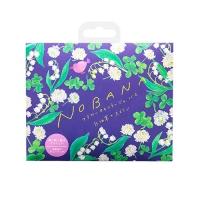 Charley Nobana - Соль-саше для ванн увлажняющая Белый клевер и лилия с ароматом цветущих лилий, 30 г