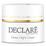 Declare Detox Night Cream - Крем ночной Совершенство молодости, 50 мл