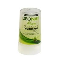DeoNat - Дезодорант кристалл с соком алоэ вера, 40 г