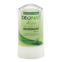 DeoNat - Дезодорант кристалл с соком алоэ вера, 60 г