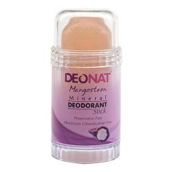 Фото DeoNat - Дезодорант кристалл с соком мангостина, 80 г