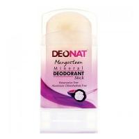 DeoNat - Дезодорант кристалл с соком мангостина, 100 г