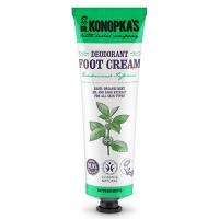 Купить Dr. Konopkas Foot Cream Deodorant - Крем для ног дезодорирующий, 75 мл