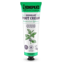 Dr. Konopkas Foot Cream Deodorant - Крем для ног дезодорирующий, 75 мл
