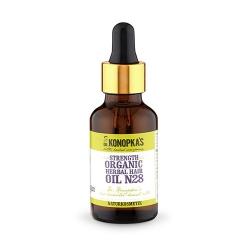 Фото Dr. Konopkas Herbal Hair Oil - Масло для волос №28 на основе лечебных трав, 30 мл