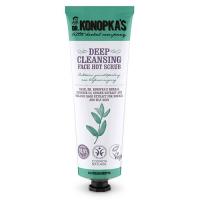 Dr. Konopkas Face Hot Scrub Deep Cleansing - Скраб для лица разогревающий для глубокого очищения, 75 мл