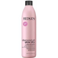 Redken Diamond Oil Glow Dry Shampoo - Шампунь для легкости расчесывания волос, 500 мл