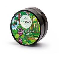 EcoCraft - Скраб для лица, Черная смородина и смола, 60мл