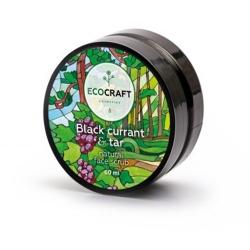 Фото EcoCraft - Скраб для лица, Черная смородина и смола, 60мл