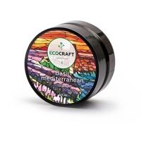 EcoCraft - Скраб для лица, Базилик средиземноморский, 60мл
