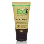 Фото Eco Suncare Natural Sun Protection Face Cream SPF 30 - Натуральный солнцезащитный крем для лица, 50 мл
