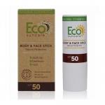 Фото Eco Suncare Natural Sun Protection Body & Face Stick SPF 50 - Солнцезащитный карандаш для чувствительных участков кожи, 17 мл