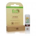 Фото Eco Suncare Natural Sun Protection Lip Balm SPF 15 - Натуральный солнцезащитный бальзам для губ, 5 мл