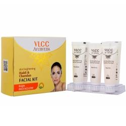 """Фото VLCC - Набор для очищения и осветления кожи лица """"Халди и Сандал"""""""