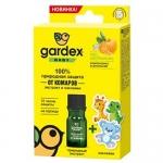 Фото Gardex Baby - 100% Природная защита от комаров экстракт и наклейки