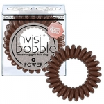 Фото Invisibobble Power Pretzel Brown - Резинка-браслет для волос, цвет коричневый, 3 шт.