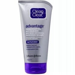 Фото Johnson & Johnson Clean & Clear Advantage - Ежедневный гель для умывания от прыщей, 150 мл