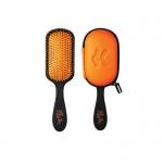 Фото The Knot Dr. - Расческа The Pro Sport Tangerine в чехле, оранжевый