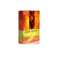Lady Henna - Натуральная краска для волос Медная, 100 мл