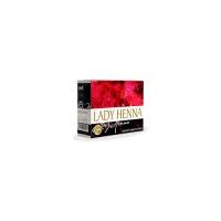 Lady Henna - Краска для волос на основе хны Темно-коричневый (№3), 60 гр