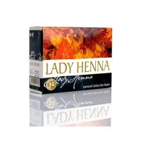 Lady Henna - Краска для волос на основе хны Черный индиго (№2), 60 гр