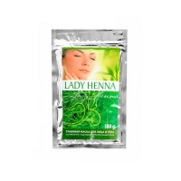 Lady Henna - Травяная маска для лица и тела, 100 мл
