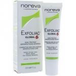 Фото Noreva Exfoliac Global - Крем для лица, Глобал 6, 30 мл