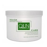 Купить Ollin Care Restore Intensive Mask - Интенсивная маска для восстановления структуры волос 500 мл, Ollin Professional
