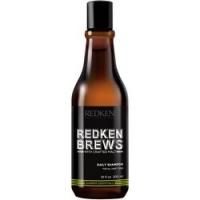 Купить Redken Brews Daily Shampoo - Шампунь для ежедневного ухода за волосами и кожей головы, 300 мл