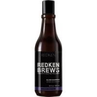 Redken Brews Silver Shampoo - Шампунь для нейтрализации желтизны седых и осветленных волос, 300 мл