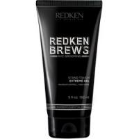 Redken Brews Stand Tough Extreme Gel - Гель сильной фиксации, 150 мл